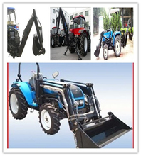 HOT!!Supply high quality 100HP tractor with front end loader for sale
