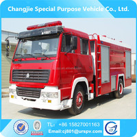 Sinotruk 4*2 high quality fire truck tankers sale