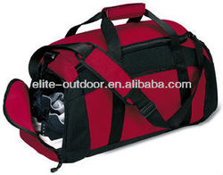 luggage travel bag with shoes compartment