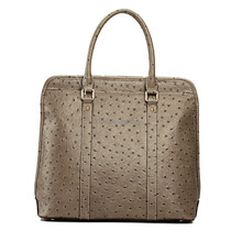 S432-A2302 ostrich cow leather bag 2015 new product wowan bags fiedle leather handbag business woman bag office lady bag branded