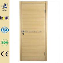 เจ้อเจียงafolห้องนอนไม้ประตูไม้ภายในของแข็งประตูบานคู่ขัด