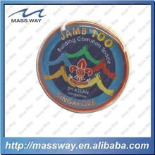 customized promotinal printing metal epoxy lapel pin