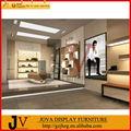 de moda para la decoración de la tienda de zapatos estantes