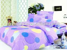 100% cotton pigment printed European bedding set