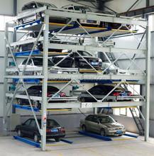5 floors smart car parking system