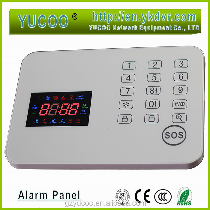 household cigarette smoke detector alarm system control panel buy alarm con. Black Bedroom Furniture Sets. Home Design Ideas