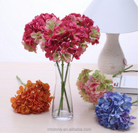 silk flowers heads for flower wall decoration for stage