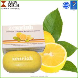 Body Exfoliating and Scrub Harmony Fruit Lemon Fresh Skin Lightening Soap
