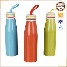 Novelty Drink Bottles Customized Non-spill Stainless Steel Vacuum Insulated bottle