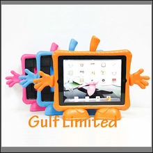 Cute AppleGuy EVA Foam Handle Back stand Tablet Case Cover For iPad 2 3 4