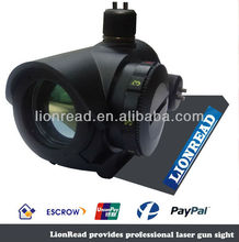 Tactical Military Four Separate Reticle Tubeless Open Brightness Settings Red Dot Reflex Design Sight with Weaver-Picatinny Rail