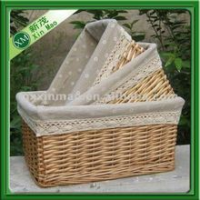 pop up large wicker laundry basket with liner