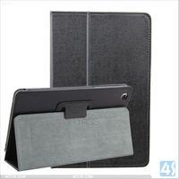Back Stand PU Leather Case Cover for Lenovo A5500- HV P-LENA5500SPCA001