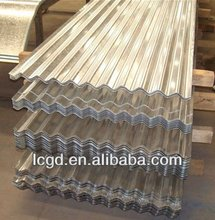 SGCH full hard galvanized corrugated steel sheets for roofing