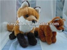 stuffed fox/plush fox stuffed animals/stuffed toy fox