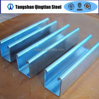 low price steel c section c purlin steel c channel sizes from tangshan