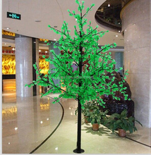 Hot sale waterproof artificial christmas cherry tree decoration