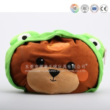 Christmas gifts cartoon animal body pillows and cushions for kids