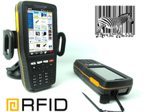 ST308 Portable Data Terminal Industry PDA with bar code scan rfid reader with industrial ip65,NFC UHF RFID PDA Reader