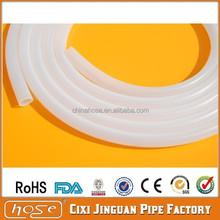 FDA Grade Beer Milk Silicone Rubber Tube / Hose, High Temperature Heat Resistant Silicone Rubber Tube, Cheap Clear Silicone Tube