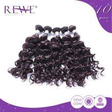 Various Colors Virgin Virgin Based Braiding Water Wave Hair Weave Products