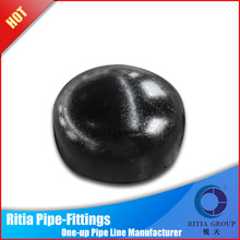 high pressure threaded cap carbon steel pipe fittings