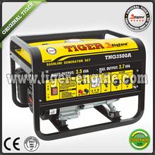 1.0-5.0Kw electric/hand start, handles & wheels, Tiger Generator