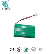 nimh aaa 600mah 3.6v battery for cordless phone