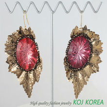 KE-134 wine color party jewelry