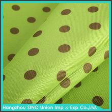 Factory price waterproof TPU PU PE dot polyester fabric