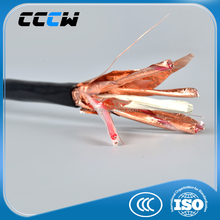 low voltage copper core copper tape twisted shield PVC sheath computer cable