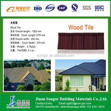 free sample decorative colorful stone coated metal roof tile