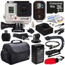 GoPro HERO3+ Black Edition Camera with Special Edition Best Value Accessory Kit