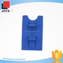 Mobile Phone Case Card Holder Wallet Sticker Card Wallet Pocket Mobile Phone Holder One Touch Silicon Stand Smart Card Wallet
