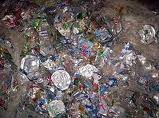 Aluminum Cans and PET Bottles scrap