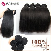 Fabwigs factory wholesale 2015 natural color large stock fast delivery 12 14 16 18 unprocessed virgin indian hair