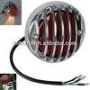 Motorcycle Chrome Round Motorcycle Tail Brake Light for Harley Bobber Chopper Rat Custom