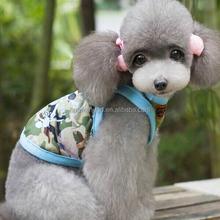 Wholesale camouflage clothing dog, camouflage pet tank tops, Chinese dog clothing
