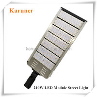 2015 New Design High Power Bridgelux Chip and Meanwell Driver 210W IP65 LED Module Street Light