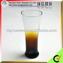 2012 New Arrival OEM Customise Hot Pint Beer Glass with Bottom Color