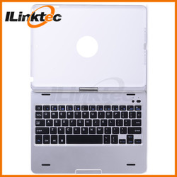 360 degree rotation Bluetooth Keyboard case for ipad air, mac keyboard cover