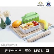Rectangle plastic photo lunch box