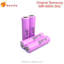 2015 Newest 18650 high drain Samsung 15A inr18650 -30Q 3000mah Samsung 30Q 18650 lithium li ion battery 30Q