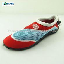 beach water walking and aqua shoes wet shoes