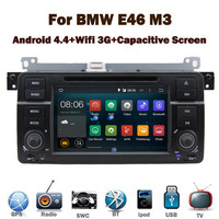 Pure Android car dvd player for BMW E46 M3 with Capacitive Touch screen GPS Bluetooth Radio RDS USB IPOD Steering wheel control