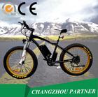 Blanco frame oculto eletric batería de la bici