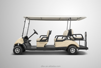 EEC approved battery operated cheap 6 seats electric golf buggy for sale