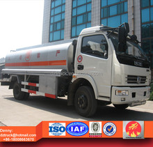 DongFeng 4tons fuel delivery fuel tank truck for sale