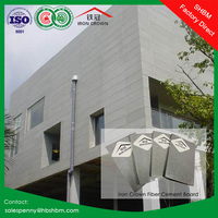 fireproof waterproof decoration of houses interior wall paneling partition drywall fiber cement board