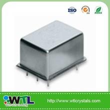 DIP Type Oven Controlled Crystal Oscillator -7.3728mhz quartz x'tal cylindrical crystal ocxo